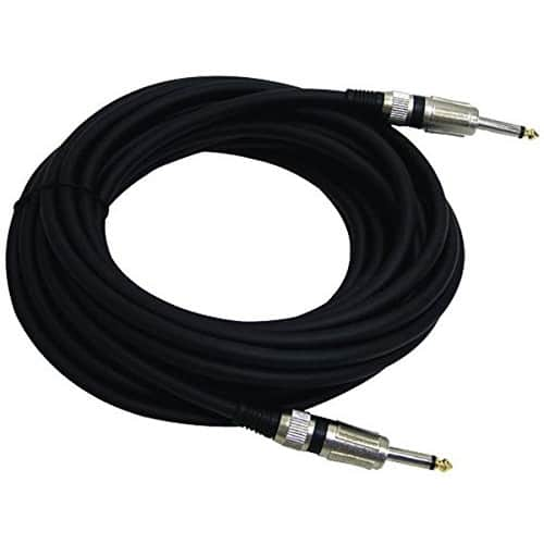 Pyle PPJJ-30 1/4-Inch to 1/4-Inch Professional Speaker Cable (30 feet) @amazon $11.54
