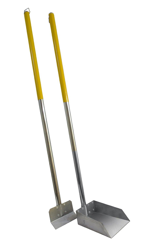 Flexrake Standard Poop Pet Scoop/Spade with 3-Feet Aluminum Handle [1 Set] $17.9 FS w/ prime @amazon
