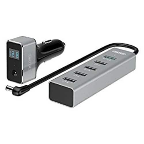 UNITEK Quick Charge 2.0 Car Charger + 5-Port USB Hub $9.99 FS w/ prime @Amazon