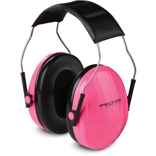 Peltor Sport Earmuffs, Pink, Small, 1/Pack [Pink] $10.36 @amazon