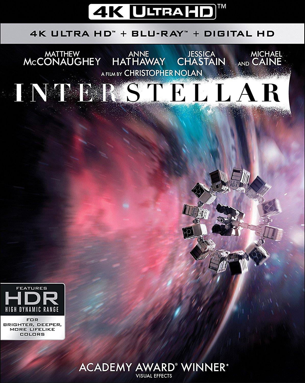 InterStellar 4K UltraHD [Blu-ray] $19.34 @amazon