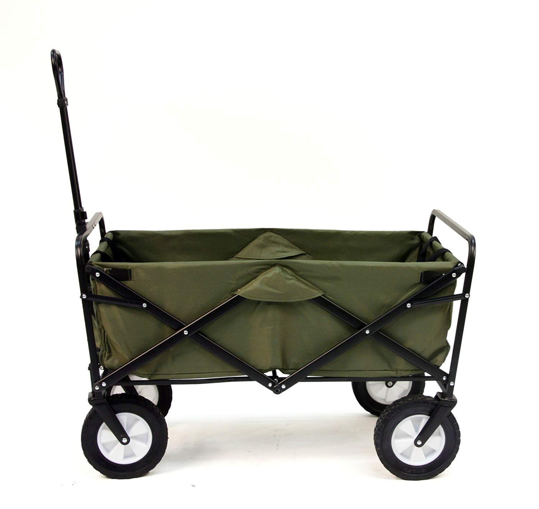 Mac Sports Collapsible Folding Outdoor Utility Wagon, Green [Green] $49.99 FS@amazon