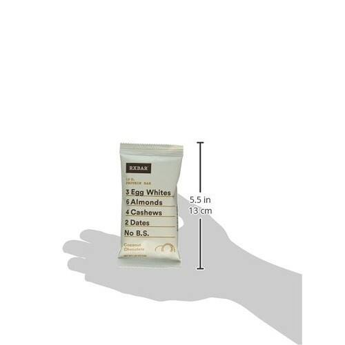 RXBAR Whole Food Protein Bar, Coconut Chocolate, 1.83 Ounce (Pack of 12) $15.31+FS @amazon