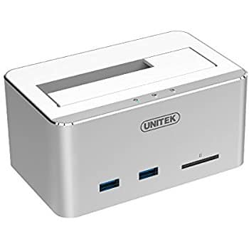 UNITEK Hard Drive Enclosure 50% off shipping free w/ prime @ amazon