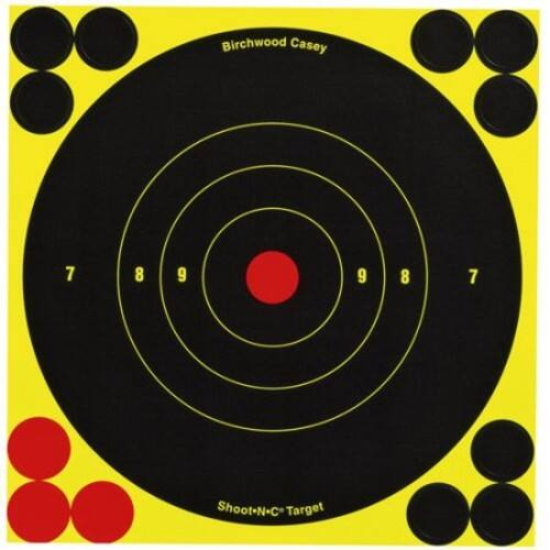 Birchwood Casey Shoot-N-C 6-Inch Round Target (60 Sheet Pack) $11.13 @amazon