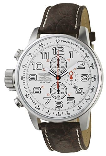 "Invicta Men's 2771 ""Force Collection"" Stainless Steel Left-Handed Watch with Brown Leather Band $54.99 FS @amazon"