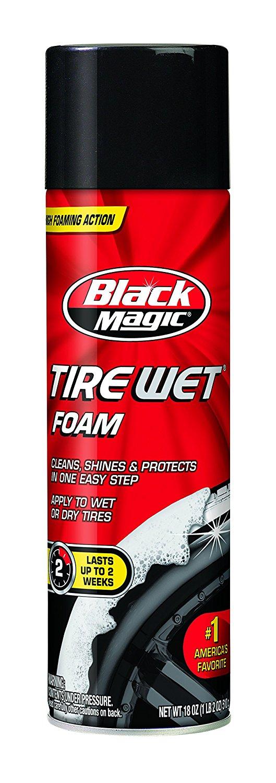 Black Magic 800002220 Tire Wet Foam, 18 oz. [1] $3.4 add-on item @amazon