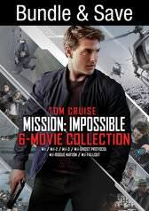 VUDU digital movie: Mission: Impossible - 6 Movie Collection (Bundle) - UHD $39.99 (original Price $109.94) - Other formats no discount.