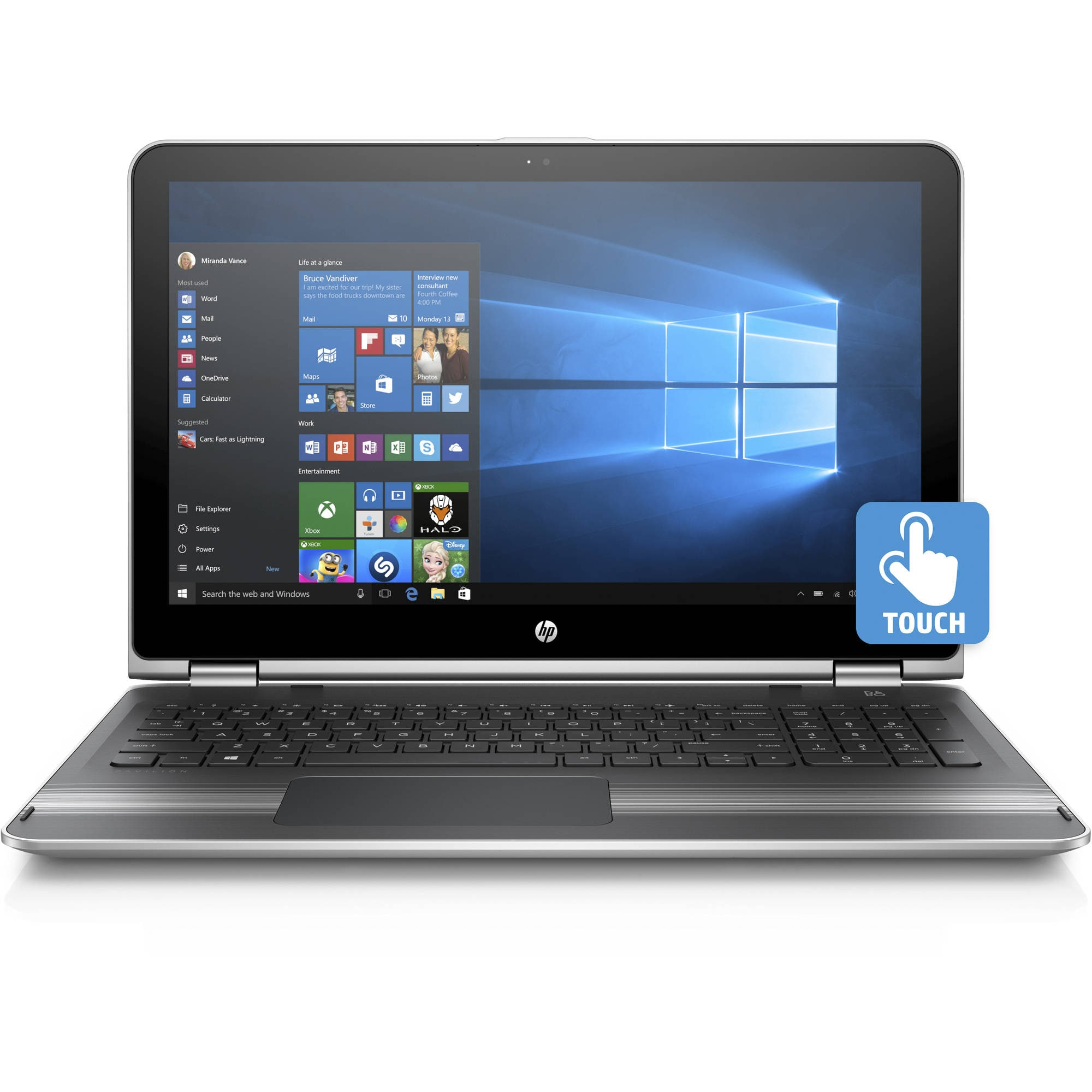 "YMMV Walmart: HP Pavilion X360 15.6"" ($297) and Liquid Platinum Gaming ($314)"