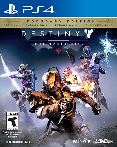 Destiny Legendary Edition PS4 for $32.49 and $32.99 Xbox One shipped on Amazon.com