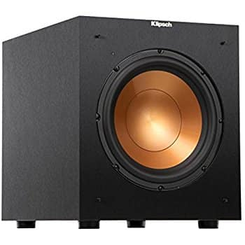 Klipsch R-10SW Powerful 10-inch 300 Watt Subwoofer w/ accessories bundle $175 shipped on Amazon.com