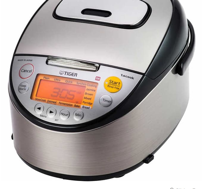 Tiger Induction Heating Rice Cooker JKT-S10U - $220 Costco