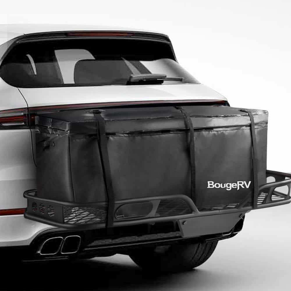 BougeRV Hitch Cargo Carrier Bag Waterproof/Rainproof Hitch Mount Cargo Bag $41.30 Free S/H $41.28