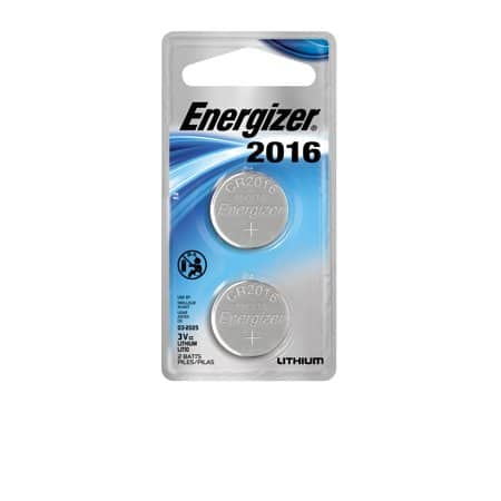 Walmart CR2016 Cell Battery --- Energizer Ultimate Lithium 3V Batteries, 2 Pack --- $1.87 plus tax -- Free Store pickup -- Min 2 qty. Required