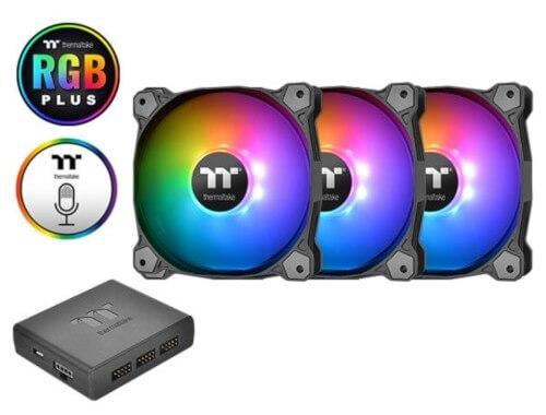 Frys - TT Pure Plus 12 RGB Fan 3-Pack 120mm Fans RGB Plus Software Digital Controller - 1 Day Only - 2/11/19 - $25 AR