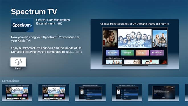HU: Spectrum debuts $15 cable streaming service for Apple TV