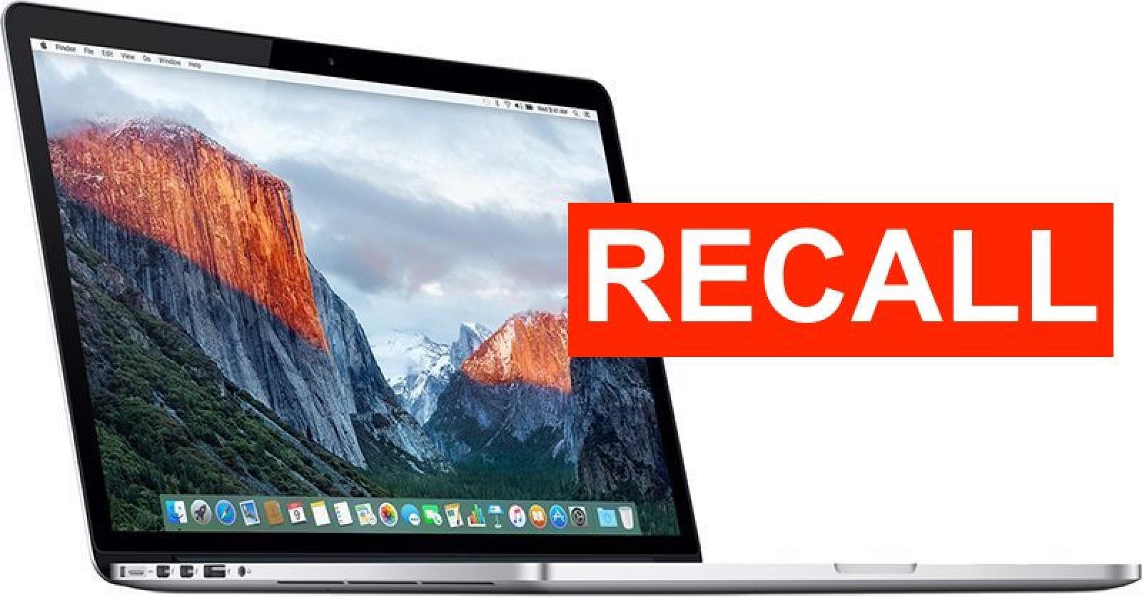 PSA: 2015 15-inch MacBook Pro Battery Recall Program