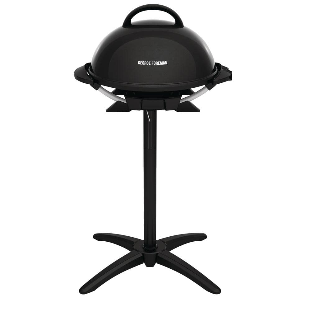 George Foreman Indoor/Outdoor Electric Grill in Black $49