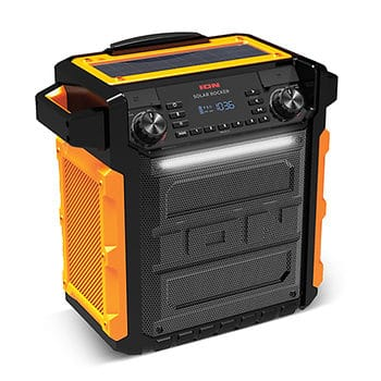 ION Audio Solar-Powered Bluetooth Speaker drops from $190.00 to $125 Shipped! $124.99