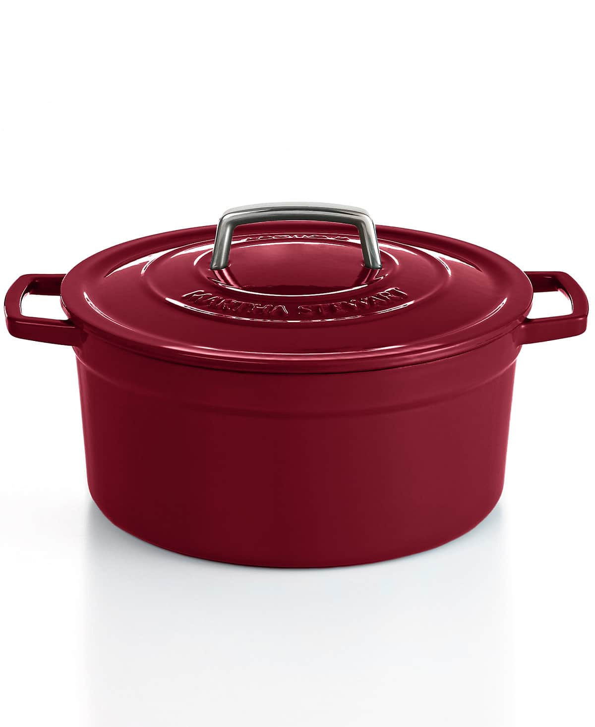 Martha Stewart Collection Collector's Enameled Cast Iron 6 Qt. Round Dutch Oven $39.99 AR