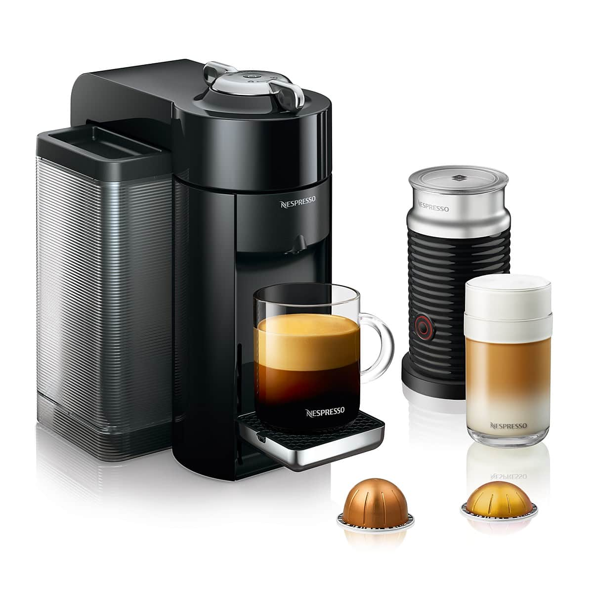 Nespresso Expresso Maker Vertuoline Evoluo Bundle by De'Longhi 70% OFF REG. $475 now $140