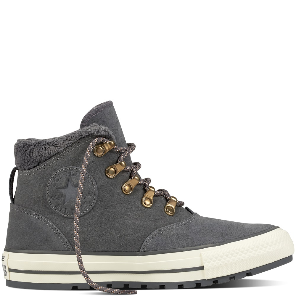 9ff2fe7899aba1 Converse Flash Sale  Women s Chuck Taylor All Star ember boot suede and faux  fur high top reg  80 now  32
