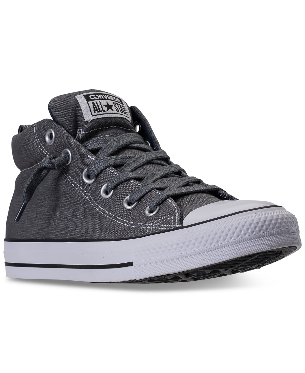 eaae0df038be Converse Men s Chuck Taylor All Star Street Mid Casual Sneakers from Finish  Line  35