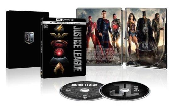 SteelBook 4K Ultra HD + Blu-ray + Digital - Justice League ($14.99)
