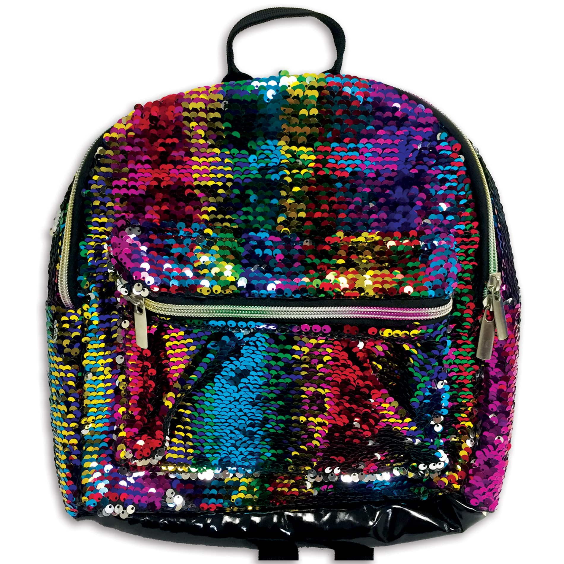Kmart  $5 back in points on a $10 school supplies purchase.B&M or pick-up. $7 sequin backpack