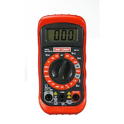 SEARS Craftsman digital Multimeter (yes, that one) - $10 with $3 points rolling ($7spend +trade $3 old SYW points for $3 new points) TODAY 1/19 ONLY