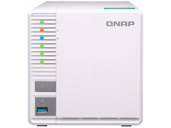 Qnap 3-bay NAS for 169.99 + $6 shipping (FS with Prime) $169.99