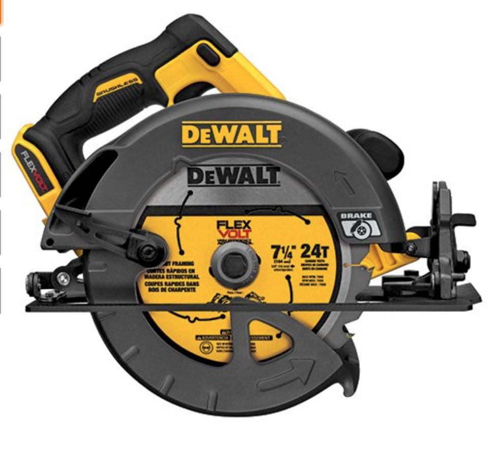 Dewalt DCS575B 7 1/4 in 60v Circular Saw $149
