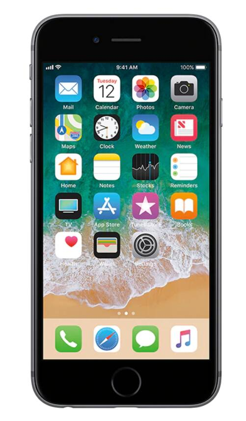 AT&T Prepaid iPhone 6s - 32GB $99 with $65+ phone plan $152.99