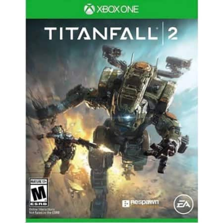 Titanfall 2 (Xbox One) with Bonus Nitro Scorch Pack (also available w/o pack for same price) $12 Walmart - Free store pickup or shipping on orders $35+