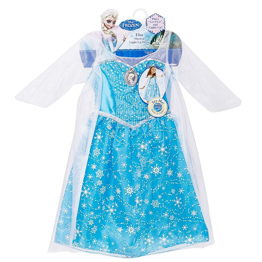 Disney Frozen Elsa Musical Light Up Dress with free gift/accessory- $11.89 with Kohls Card