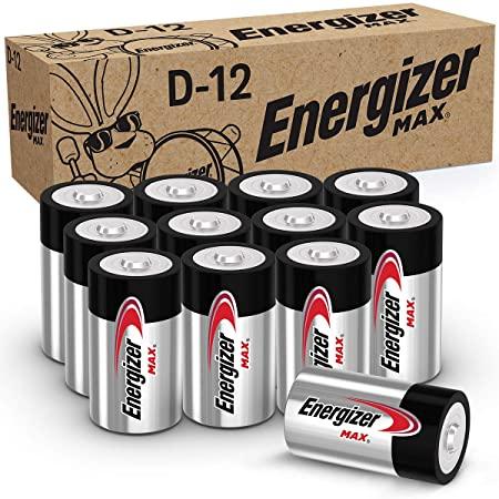 Energier Max 12 Pack D Batteries $6.85 ( 2021/2022 Expire )