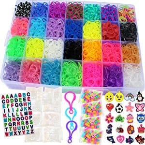 Talented Kids 11,750 Piece Mega Rainbow Loom Kit $16.95 @ Amazon Free Ship w/ Prime