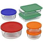 12-Piece Pyrex  Plus Food Storage Set w/ Lids $16.88 + Free Site to Store Shipping