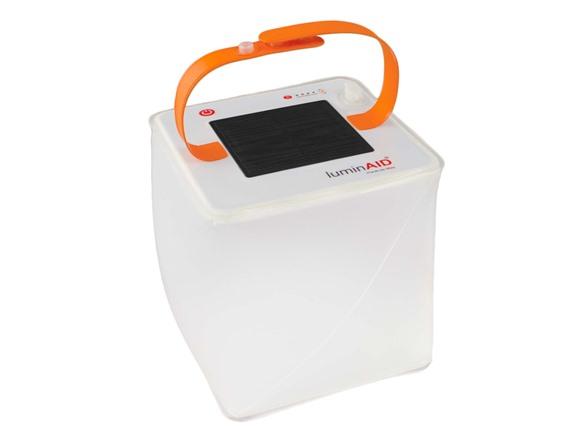 LuminAID PackLite Max USB Solar Inflatable Lantern $13