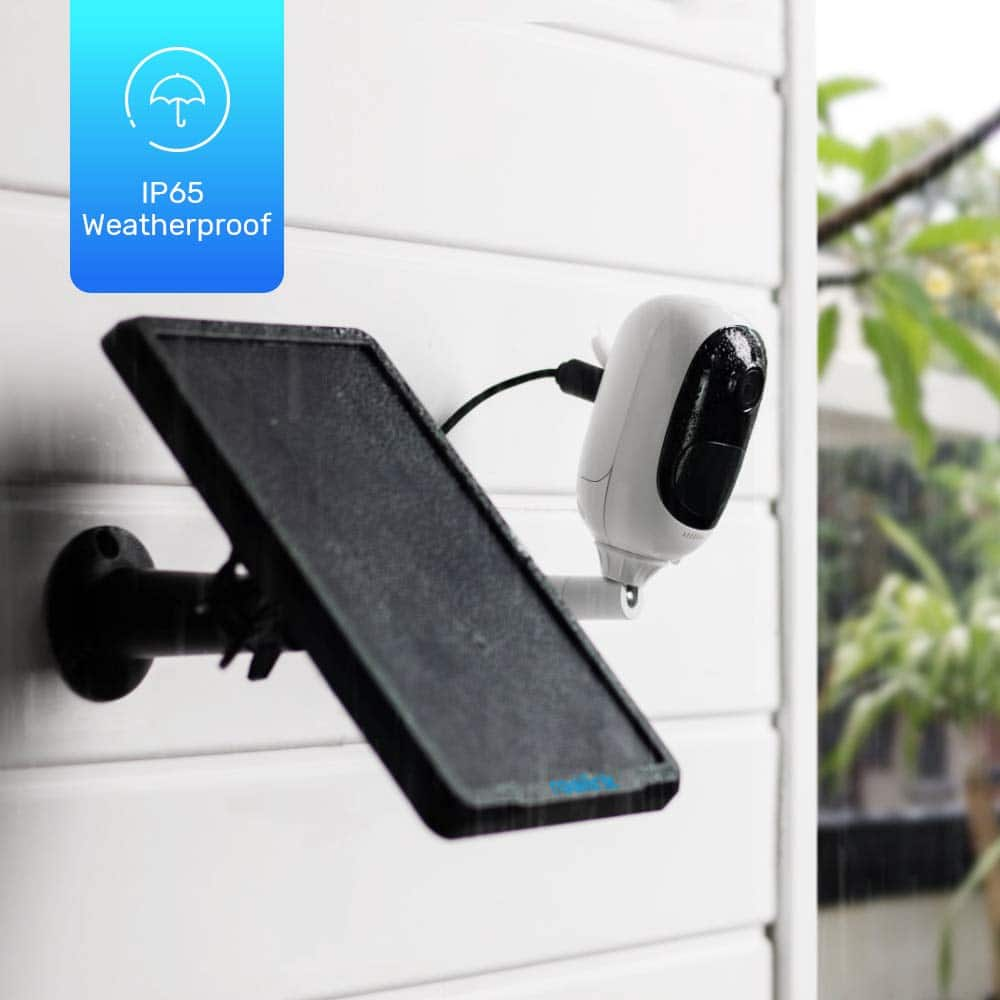 Reolink Argus 2 + Solar Panel Wireless Rechargeable Battery-Powered Security Camera $69