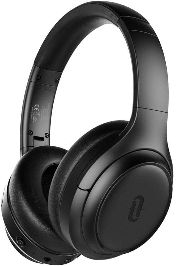 TaoTronics Active Noise Cancelling Upgraded Bluetooth Headphones SoundSurge 60 Deep Bass, Quick Charge, 30H Playtime $39.99