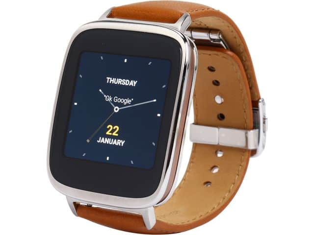 NEW Asus ZenWatch (Gen 1) down to $89 (w/ promo code 0519WEARTCH03, ends 5/21)