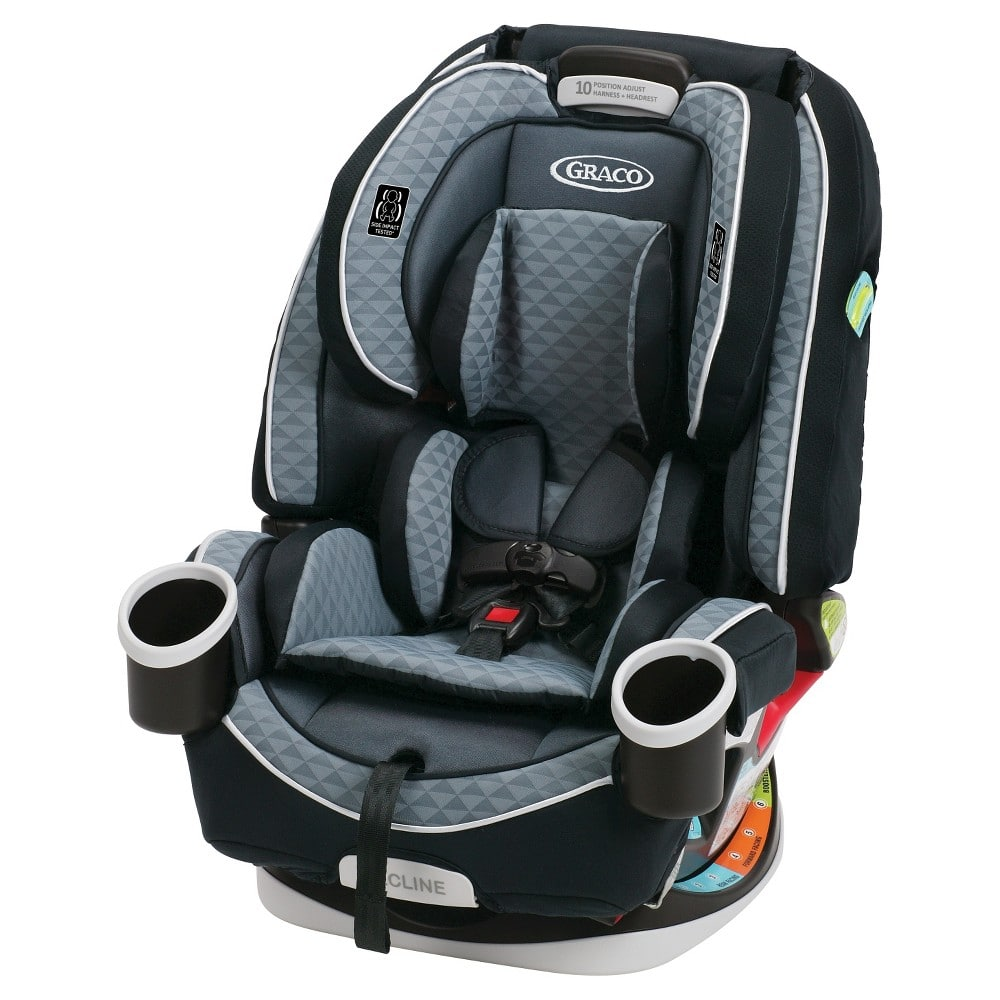 Graco 4Ever All-In-One Convertible Car Seat (Nova) $154+tax YMMV
