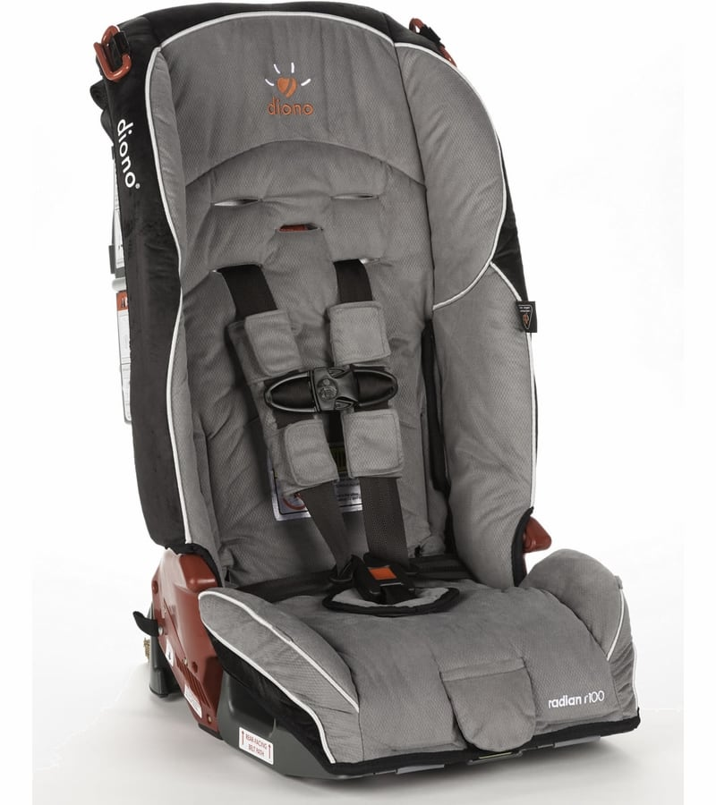 fb1e70bb5 Diono Radian R100 Convertible + Booster Car Seat (Storm) -  170 ...