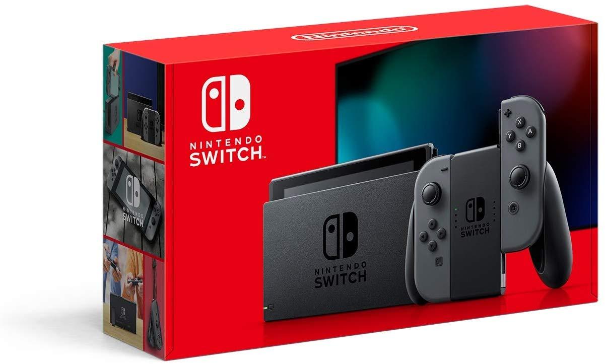 Amazon and Best Buy Online - Nintendo Switch-HAC-001(-01) $299