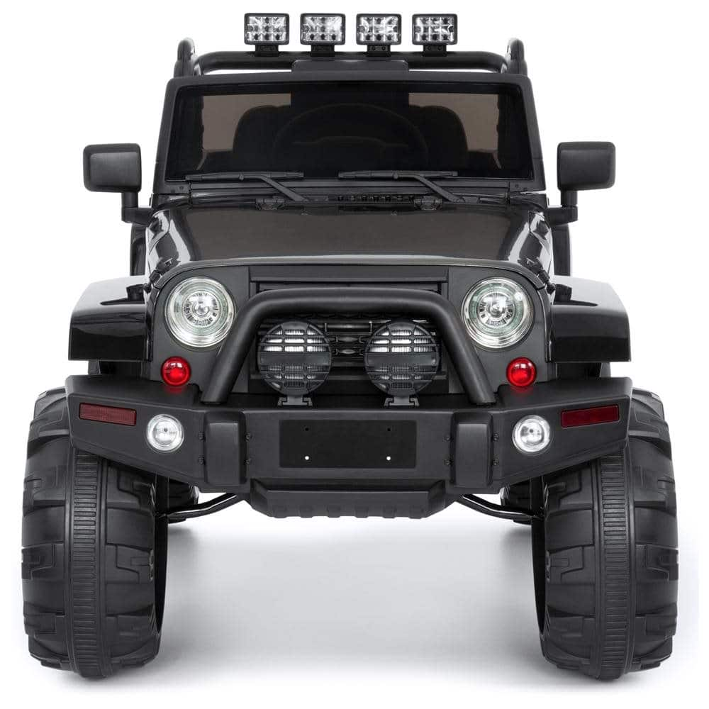 Best Choice Products 12V Ride On Car Truck w/ Remote Control, 3 Speeds, Spring Suspension, LED Light - Black $249.99 + fs