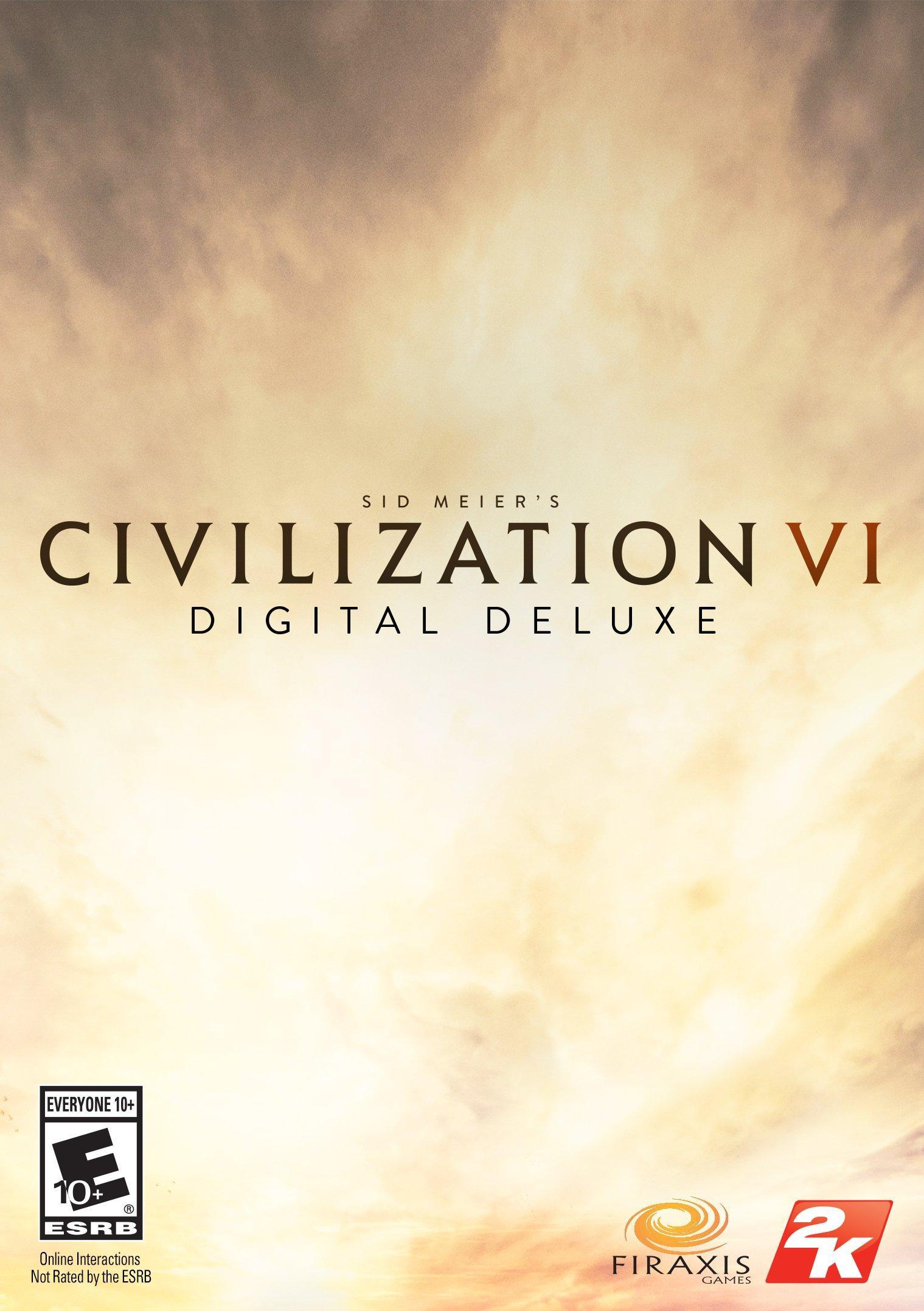 Sid Meier's Civilization VI Digital Deluxe Edition (PC - Digital) $19.99