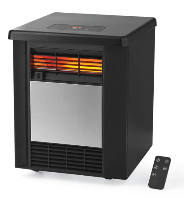 Mainstays 4 Element Infrared Quartz Space 1500W Heater $37.56 - Free Shipping