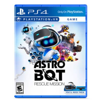 ASTRO BOT Rescue Mission PSVR - PS4 - $14