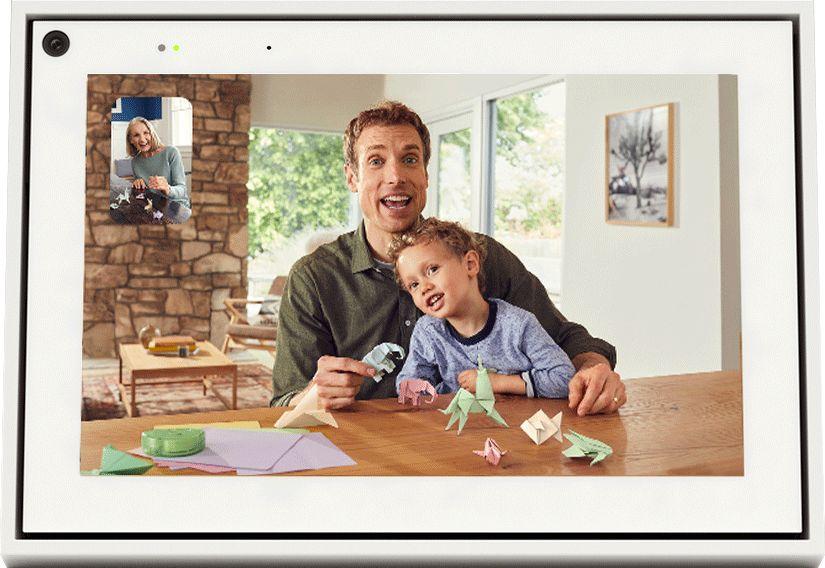 "Facebook - Portal Mini Smart Video Calling 8"" Display with Alexa - White or Black $65"